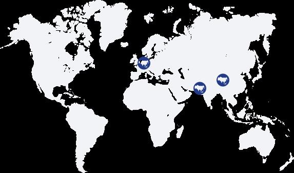 Wereldkaart - JDLsourcing