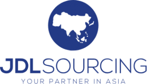 JDL Sourcing logo blauw